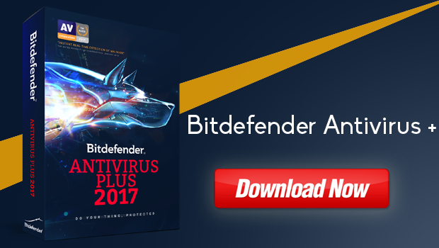 Bitdefender Antivirus Plus 2017 Free Download