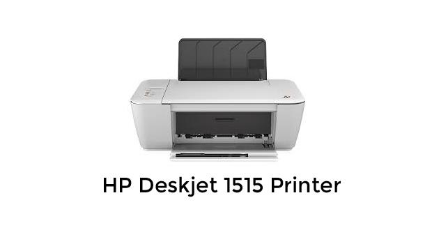 Hp Deskjet 1515 Printer Driver Download