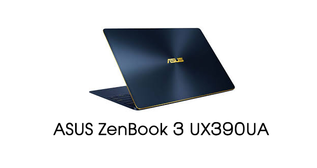 ASUS ZenBook 3 UX390UA Drivers Download