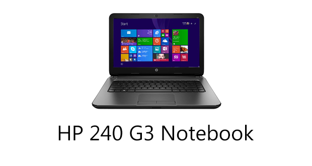 HP 240 G3 Notebook Drivers Download