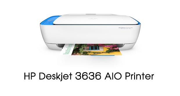 HP Deskjet 3636 Printer Drivers Download