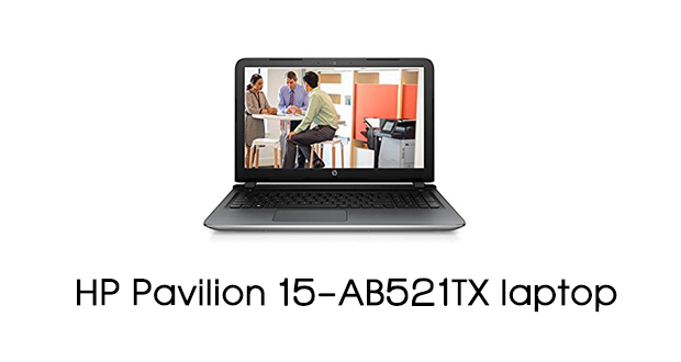 HP Pavilion 15-AB521TX Notebook Drivers Download