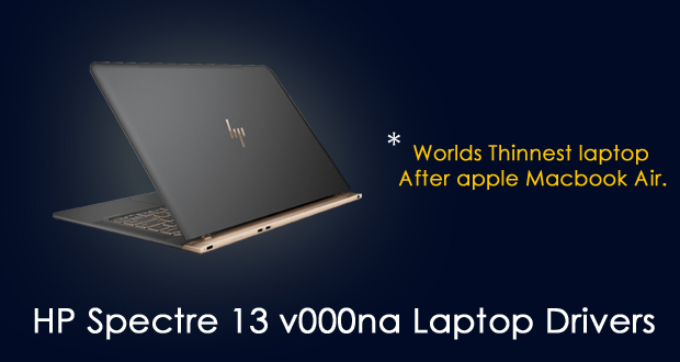 HP Spectre 13 V000na Laptop Drivers Download