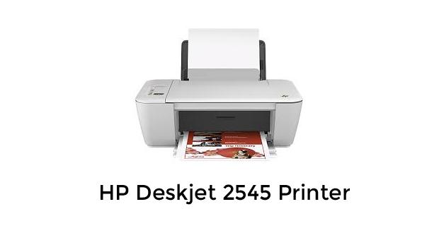 HP 2545 Printer Driver Download