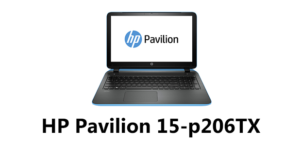 HP Pavilion 15-p206TX Notebook Drivers Download