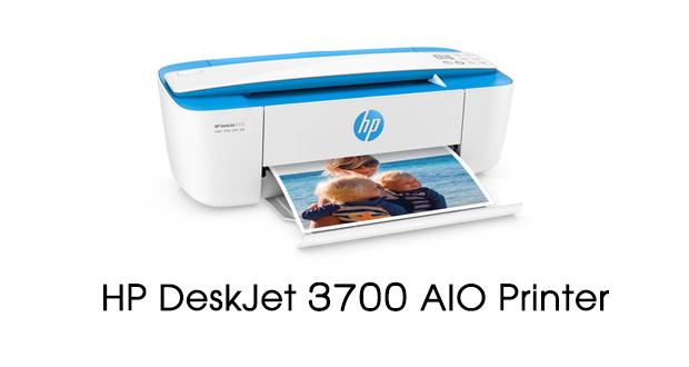 HP DeskJet 3700 Printer Drivers Download