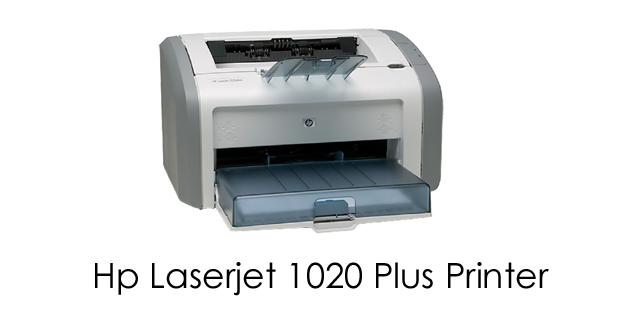 HP 1020 Printer Driver - HP 1020 Plus Drivers Download