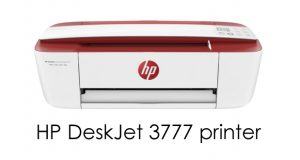 HP DeskJet 3777 printer