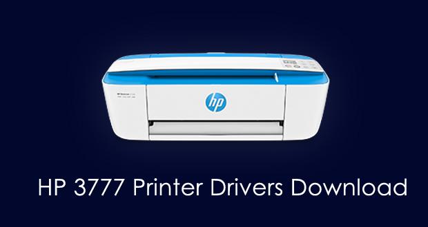 HP 3777 Printer Drivers Download