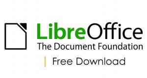 LibreOffice free