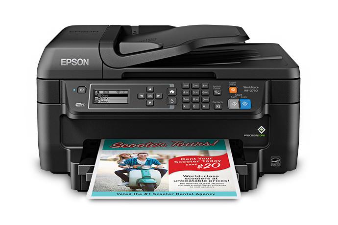 Epson WF-2750 Driver Download