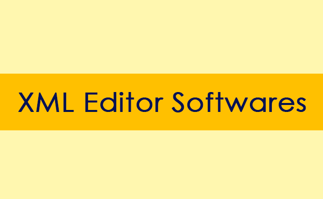 XML Editor Softwares