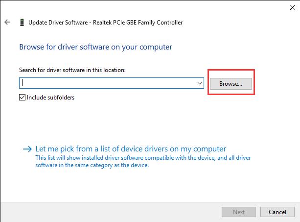 driver file location