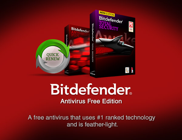 Bitdefender Antivirus Free Download Windows