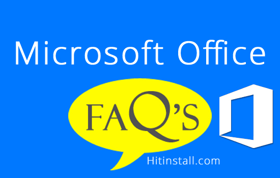 microsoft office faqs 2018 2017 for windows and